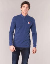 Kleidung Herren Langärmelige Polohemden Serge Blanco POCHON Marine