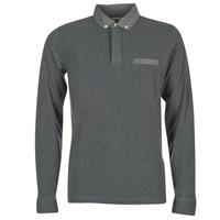 Kleidung Herren Langärmelige Polohemden Serge Blanco POCHA Schwarz / Grau