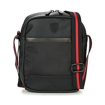 Taschen Herren Geldtasche / Handtasche Puma FERRARI LS PORTABLE Schwarz