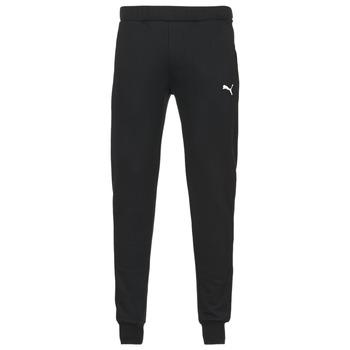 Kleidung Herren Jogginghosen Puma SWEAT PANTS SLIM FL Schwarz