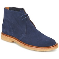 Schuhe Herren Boots Polo Ralph Lauren KARLYLE Marine