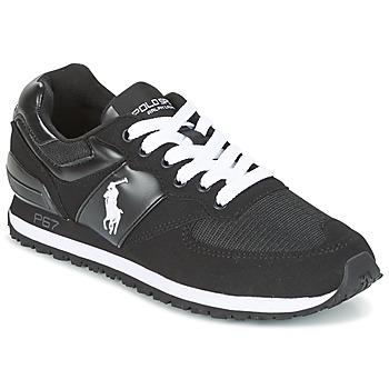 Schuhe Herren Sneaker Low Ralph Lauren SLATON PONY Schwarz