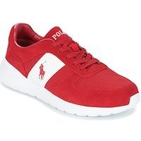 Schuhe Herren Sneaker Low Ralph Lauren CORDELL Rot