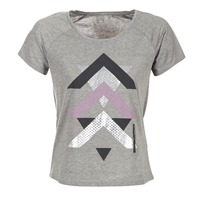 Kleidung Damen T-Shirts Only Play LINDA Grau