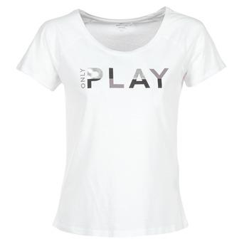 Kleidung Damen T-Shirts Only Play LINDA Weiss