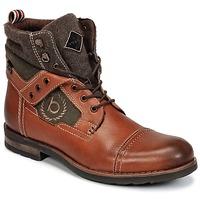 Schuhe Herren Boots Bugatti MATINE Cognac