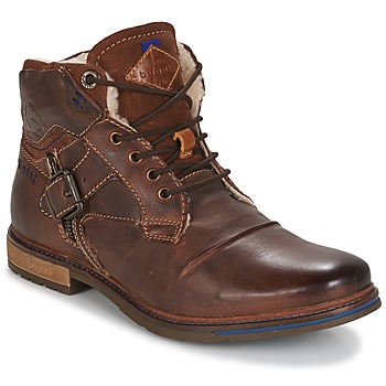 Schuhe Herren Boots Bugatti LENIL Braun