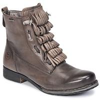 Schuhe Damen Boots Bugatti PETRI Grau