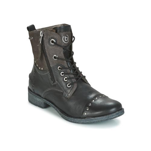 Bugatti PIERA Schwarz / Grau  Schuhe Boots Damen 87,20