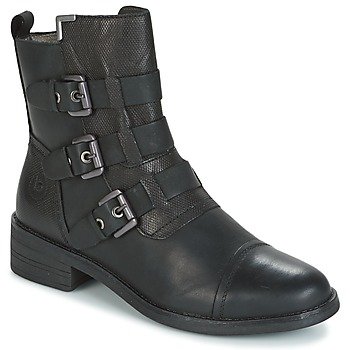 Schuhe Damen Boots Bugatti POMO Grau