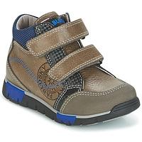 Schuhe Jungen Sneaker High Pablosky DENTELY Grau / Blau