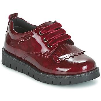 Schuhe Mädchen Derby-Schuhe Pablosky PONY Rot