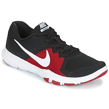Schuhe Herren Fitness / Training Nike FLEX CONTROL Schwarz / Rot