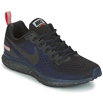Schuhe Damen Laufschuhe Nike AIR ZOOM PEGASUS 34 SHIELD Schwarz / Blau