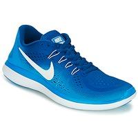 Schuhe Herren Laufschuhe Nike FLEX 2017 RUN Blau