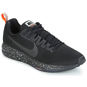 Schuhe Herren Laufschuhe Nike AIR ZOOM STRUCTURE 21 SHIELD Schwarz