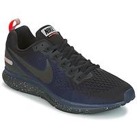 Schuhe Herren Laufschuhe Nike AIR ZOOM PEGASUS 34 SHIELD Schwarz / Blau
