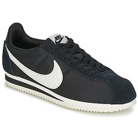Schuhe Damen Sneaker Low Nike CLASSIC CORTEZ NYLON W Schwarz / Weiss