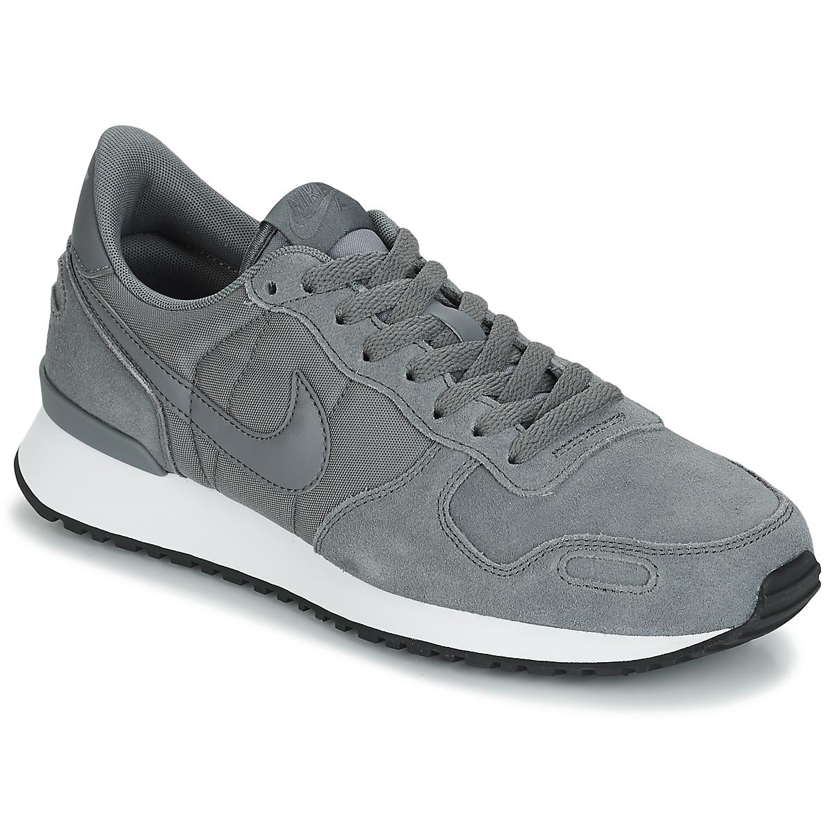 Nike AIR VORTEX LEATHER Grau - Kostenloser Versand bei Spartoode ! - Schuhe Sneaker Low Herren 62,99 €