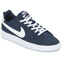 Schuhe Jungen Sneaker Low Nike COURT ROYALE GRADE SCHOOL Blau / Weiss
