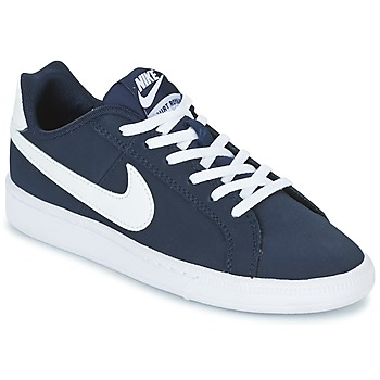 Schuhe Kinder Sneaker Low Nike COURT ROYALE GRADE SCHOOL Blau / Weiss