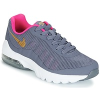 Schuhe Mädchen Sneaker Low Nike AIR MAX INVIGOR GRADE SCHOOL Blau / Rose