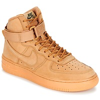 Schuhe Kinder Sneaker High Nike AIR FORCE 1 HIGH WB GRADE SCHOOL Honig