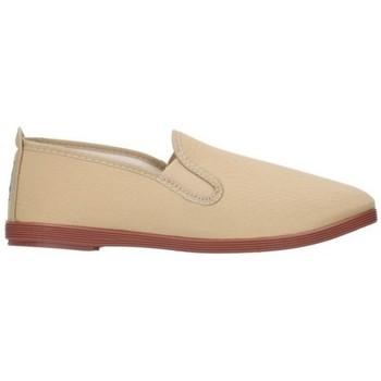 Schuhe Herren Leinen-Pantoletten mit gefloch Potomac lonas hombre - beige