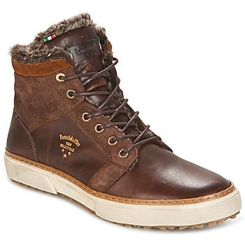 Schuhe Herren Sneaker High Pantofola d'Oro BENEVENTO UOMO FUR MID Braun