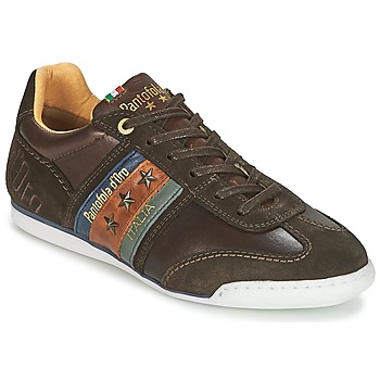 Schuhe Herren Sneaker Low Pantofola d'Oro IMOLA UOMO LOW Braun
