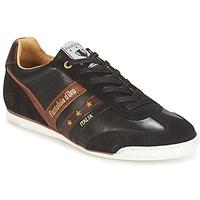 Schuhe Herren Sneaker Low Pantofola d'Oro VASTO UOMO LOW Schwarz