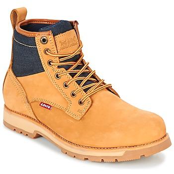 Schuhe Herren Boots Levi's LOGAN Gelb