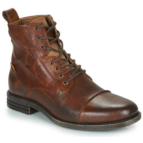 Schuhe Herren Boots Levi's EMERSON Braun