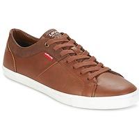 Schuhe Herren Sneaker Low Levi's WOODS Braun