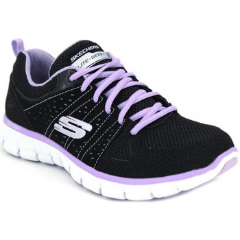 Schuhe Damen Sneaker Skechers Synergy Look Book 11963 schwarz