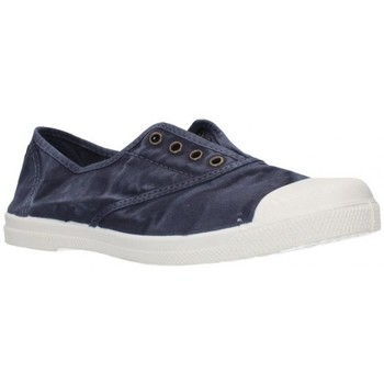 Schuhe Damen Sneaker Low Natural World 102E Mujer Azul marino bleu