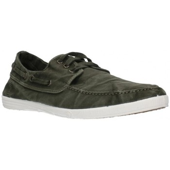 Schuhe Herren Bootsschuhe Natural World 303E Hombre Kaki vert