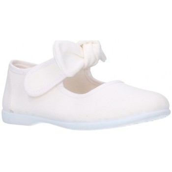 Schuhe Mädchen Ballerinas Batilas 10601 Niña Blanco blanc