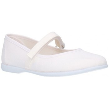 Schuhe Mädchen Ballerinas Batilas 11301 Niña Blanco blanc