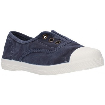 Schuhe Jungen Sneaker Low Natural World 470E Niño Azul marino bleu