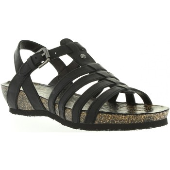 Schuhe Damen Sandalen / Sandaletten Panama Jack DUNA BASICS B1 Negro