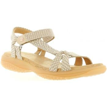 Schuhe Damen Sandalen / Sandaletten Panama Jack NEUS SNAKE B5 Rosa