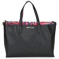 Taschen Damen Shopper / Einkaufstasche Versace Jeans ANTALOS Schwarz / Rot / Multifarben