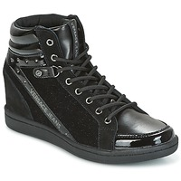 Schuhe Damen Sneaker High Versace Jeans  Schwarz