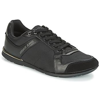 Schuhe Herren Sneaker Low Versace Jeans TERU Schwarz