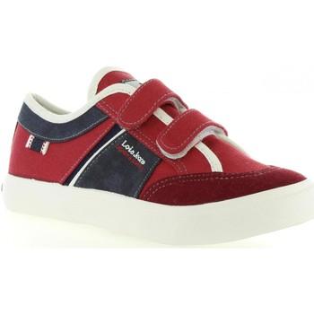 Schuhe Kinder Sneaker Lois Jeans 60017 Rojo