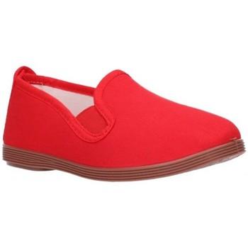 Schuhe Jungen Slip on Potomac 295 (N) Niño Rojo rouge