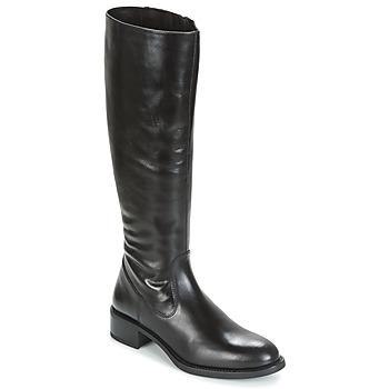 Schuhe Damen Klassische Stiefel Unisa EDUCA Schwarz