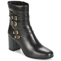Schuhe Damen Low Boots Unisa OPRA Schwarz