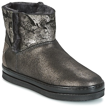 Schuhe Mädchen Boots Unisa FIS Silbern